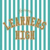 LEARNERS 『LEARNERS HIGH』 日本語詞オリジナル曲も嬉しい6曲入り新作、カジヒデキとルッキング・グラスのカヴァーも