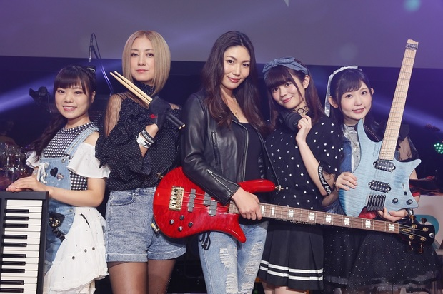 THE THIRD(仮) 『THE THIRD(仮)1st ライブ』 〈BanG Dream!(バンドリ!)〉から生まれた第三のリアル・ライブ・バンド、インタヴュー完全版