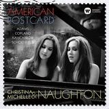 クリスティナ・ノートン& ミシェル・ノートン 『アメリカン・ポストカード~アメリカ現代ピアノデュオ作品集』 双子による協奏は洗練の極み