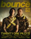トゥエンティ・ワン・パイロッツ、PEDRO、デヴィッド・ゲッタが表紙で登場! タワーレコードのフリーマガジン〈bounce〉419号発行
