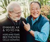 ヨーヨー・マ&エマニュエル・アックス(Yo-Yo Ma & Emanuel Ax)『ベートーヴェン:チェロ・ソナタ全曲』驚くほど深化した40年振りの再録