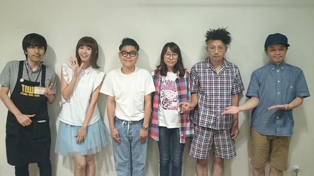 放送後記:2016年8月15日 LEARNERSのCHABE&チエ&古川太一が登場! バンドのルーツ、忘れじのサマー・ソングを選曲