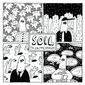 04 Limited Sazabys 『SOIL』 結成10周年を迎えアリーナ・ツアーも大成功、その勢いをありのままに真空パックした最高傑作