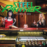 スティール・パンサー 『Lower The Bar』 最高だぜ! ヘア・メタルなLA発4人組、元ネタだらけの超ハード・ロケンローな新作