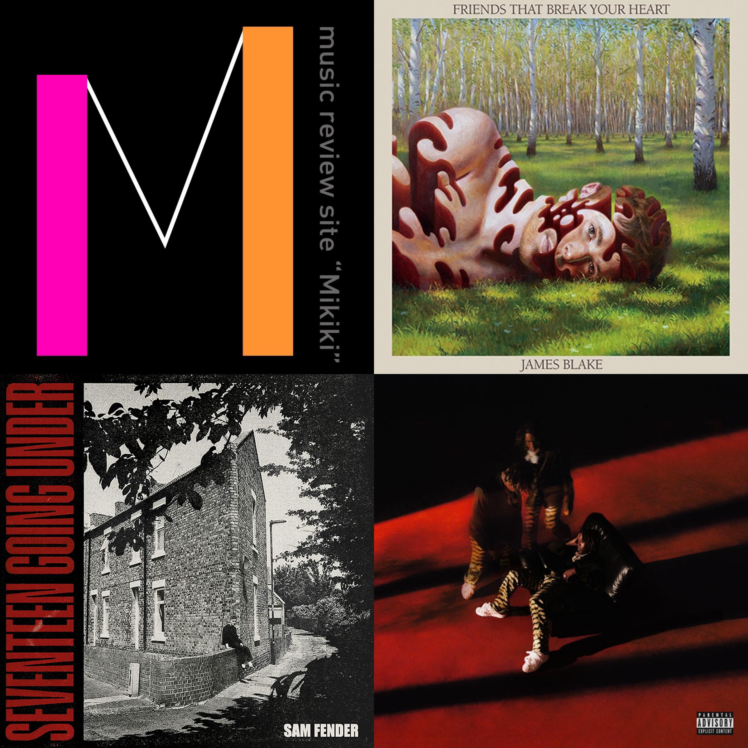 ジェイムズ・ブレイク(James Blake)、サム・フェンダー(Sam Fender)など今週リリースのMikiki推し洋楽アルバム7選!