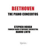 スティーヴン・ハフ(Stephen Hough)、ハンヌ・リントゥ(Hannu Lintu)&フィンランド放送交響楽団『ベートーヴェン:ピアノ協奏曲全集』抑制のきいたピアニズムによる流麗で力強いベートーヴェン像