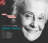 ジャンヌ=マリー・ダルレ(Jeanne-Marie Darre)『未発表録音集~サン=サーンス作品集』師匠筋にあたるサン=サーンス作品、未発表放送音源が二枚組で