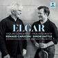 ルノー・カピュソン、サイモン・ラトル(Renaud Capuçon, Simon Rattle)『エルガー:ヴァイオリン協奏曲&ソナタ』ソロと指揮の総合点が抜群に高い一作