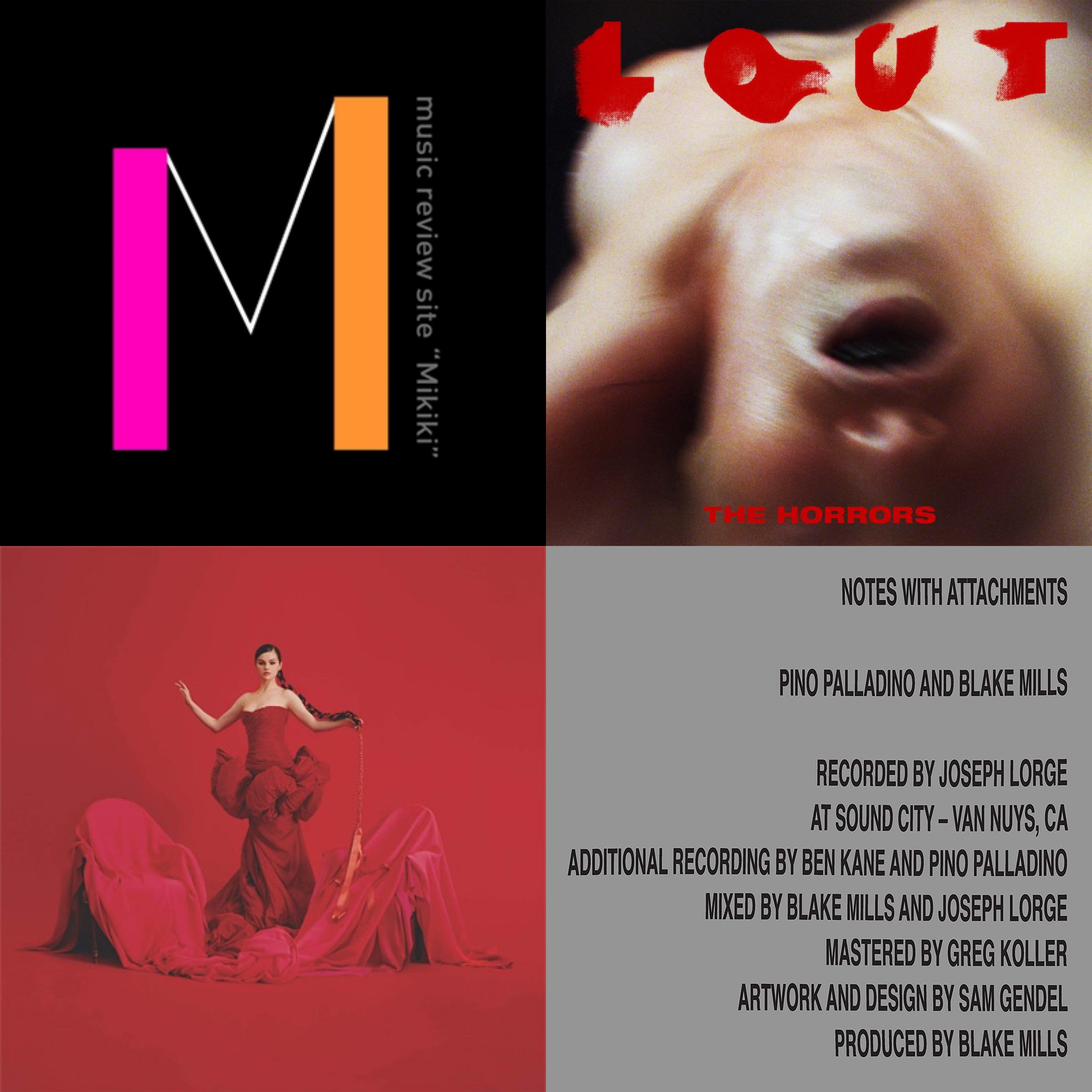 セレーナ・ゴメス(Selena Gomez)、ホラーズ(The Horrors)など今週リリースのMikiki推し洋楽アルバム/EP7選!