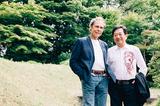 フランク・ウェバー×田中康夫、35年の時を経て実現したAORスペシャル対談