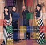 ひばり弦楽四重奏団 『ドビュッシー& ラヴェル: 弦楽四重奏曲』 驚くべき名盤の登場! 日本を代表する弦の名手が集う