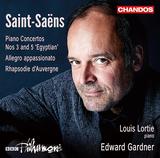 ルイ・ロルティ(Louis Lortie) 、 エドワード・ガードナー(Edward Gardner) 『サン= サーンス : ピアノ協奏曲全集Vol.2』類まれなる2つの才能を融合した演奏が聴き手を虜にする