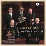 レ・ヴァン・フランセ 『コンチェルタンテ! 〜ダンツィ、モーツァルト、ドヴィエンヌ、プレイエル』 18~19世紀パリの華麗な協奏交響曲