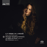 マリ・エリクスモーン(Mari Eriksmoen)『ヘンデル&モーツァルト:アリアと序曲集』フリエンドの指揮で披露する可憐で涼やかなソプラノ