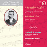 モーリツ・モシュコフスキ若き頃の協奏曲が世界初録音! ロマンティック・ピアノ・コンチェルト・シリーズ第68集