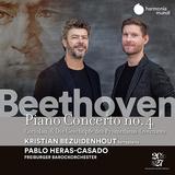 クリスティアン・ベザイデンホウト&パブロ・エラス・カサド(Kristian Bezuidenhout & Pablo Heras-Casado)『ベートーヴェン:ピアノ協奏曲全集 Vol.2』既存のイメージを覆す激しい演奏