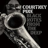 コートニー・パイン 『Black Notes From The Deep』 オマーも参加でアシッド・ジャズ・ブーム世代垂涎のサクソフォニスト新作