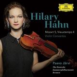ヴァイオリン界の才媛、ヒラリー・ハーンがパーヴォ・ヤルヴィ指揮でモーツァルト第5番など鮮烈な演奏聴かせる一枚