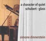 シモーネ・ディナースタイン(Simone Dinnerstein)『A Character Of Quiet』コロナ禍に愛用のピアノで奏でたフィリップ・グラスとシューベルト