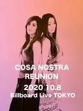COSA NOSTRAにオリジナル・メンバーが再結集しBillboard Live TOKYOでライブを開催